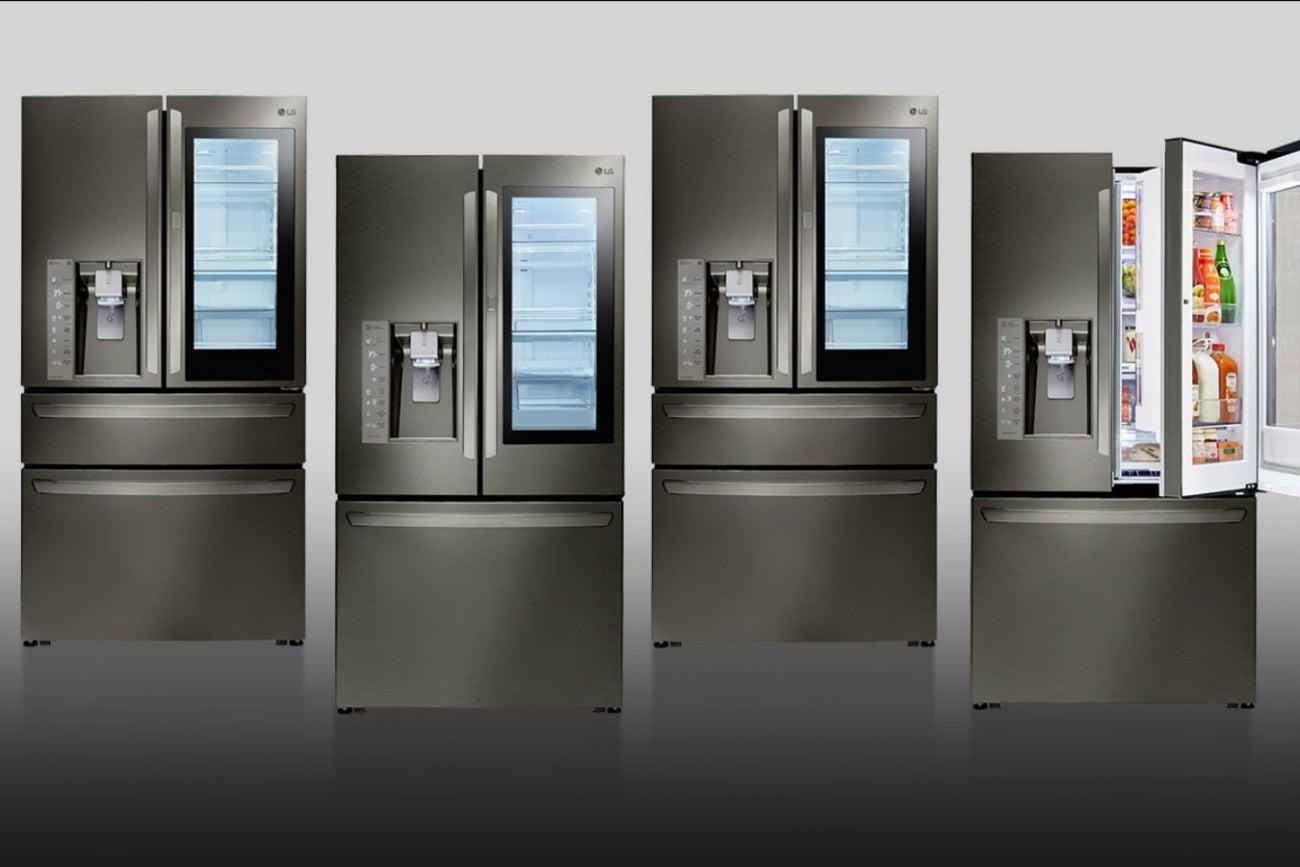 lg refrigerator instaview. stay cool: lg smart instaview refrigerator lg instaview