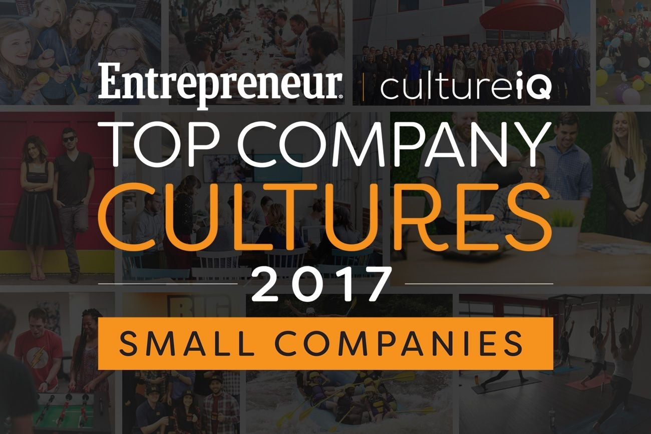 small sized companies the best company cultures in