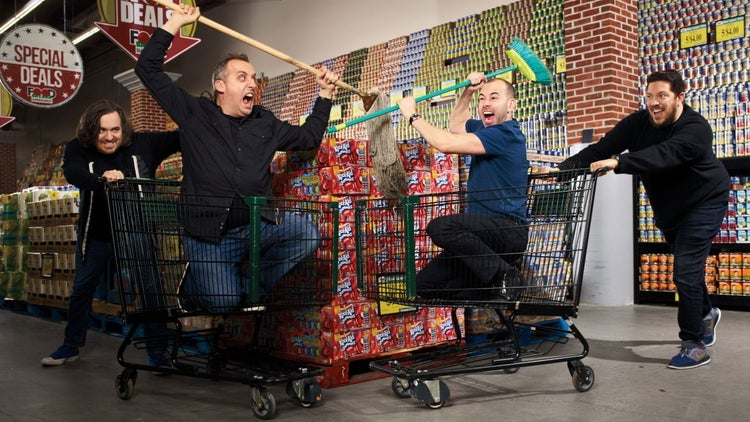 What the Stars of Impractical Jokers Can Teach You About Teamwork and Risk