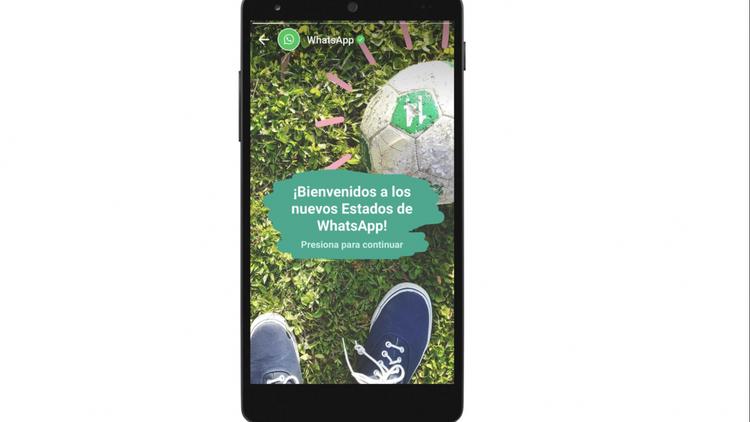 WhatsApp se 'roba' el formato de Snapchat
