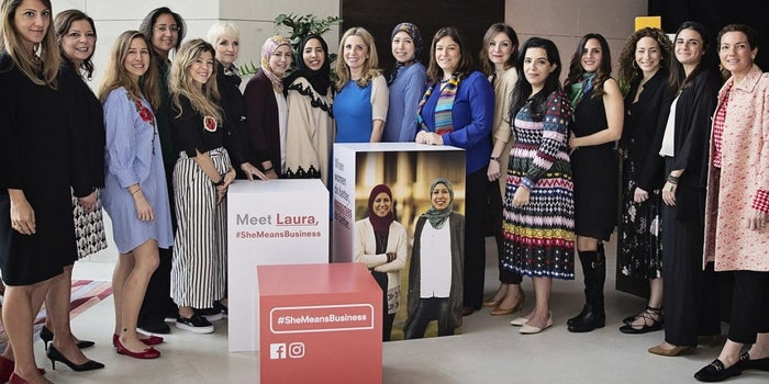 Facebook MENA Launches #SheMeansBusiness To Encourage Female Entrepreneurship