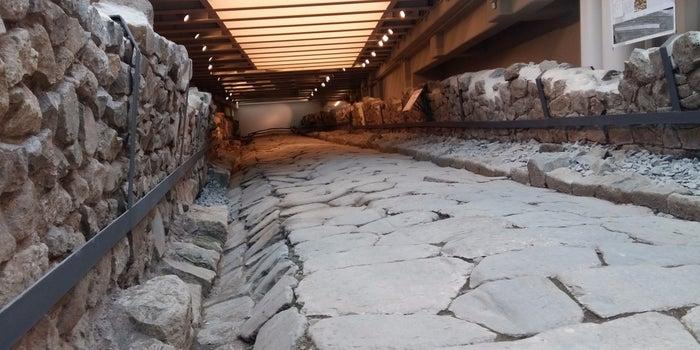 McDonald's Preserves Ancient Roman Road Beneath Its New Restaurant