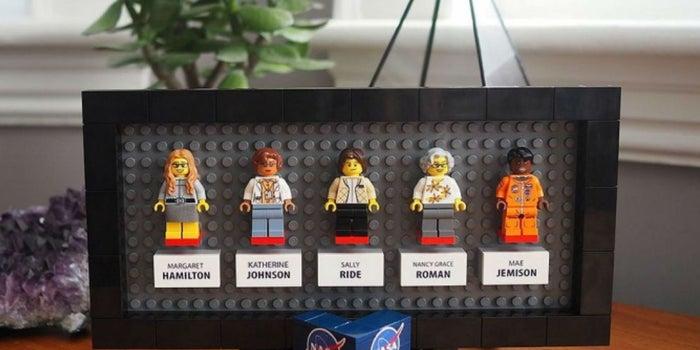 ¡Lego lanza una colección 'estelar' con las mujeres de la NASA!