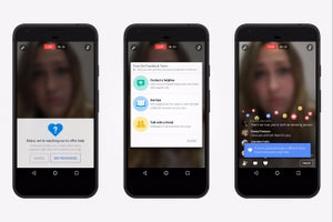 Facebook Adds Suicide-Prevention Tools for Live Video