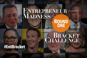 Entrepreneur Madness Bracket Challenge: Choose Your Favorite Creator
