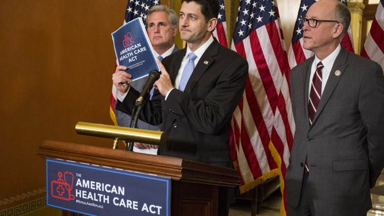 GOP Health Care Act Would Reduce Deficit, But Leave Millions Uninsured, CBO Says