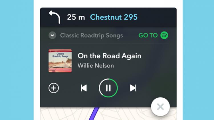 Escucha música en Spotify mientras manejas con Waze