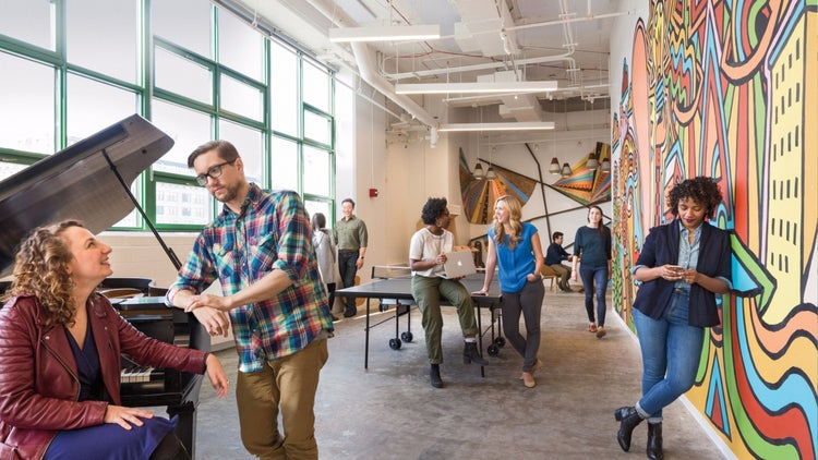 What It's Like Inside Etsy's New Arty, Sustainable Headquarters