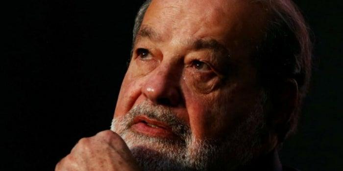 """Slim es """"sólo"""" el sexto hombre más rico del mundo"""