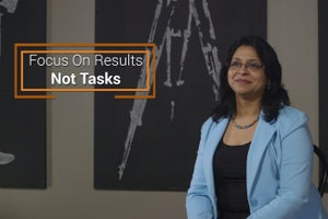 Focus On Results, Not Tasks