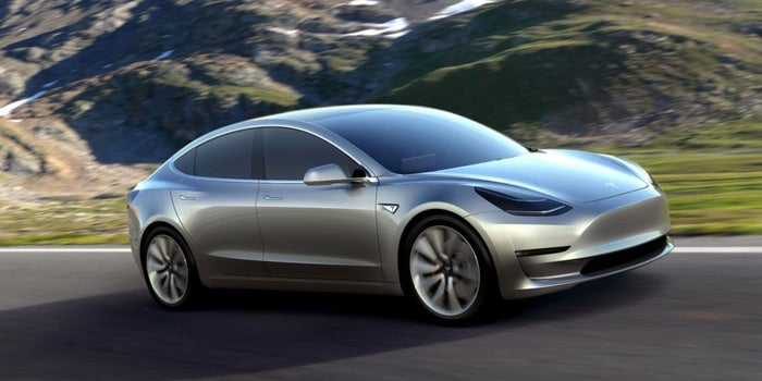 Elon Musk Offers Tesla Model 3 Sneak Peek