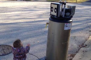 Watch This Adorably Cute Toddler Mistake a Water Heater for a Robot