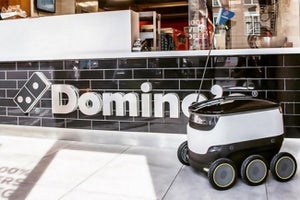 Starship Robots Will Deliver Pizza for Domino's