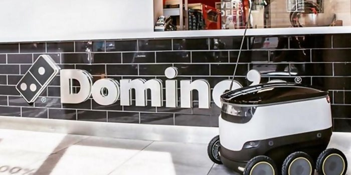 Starship Robots Will Deliver Pizza for Domino's