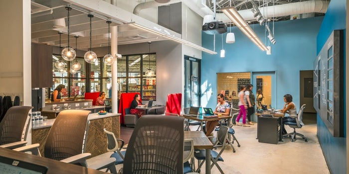 Staples Opens Coworking Space