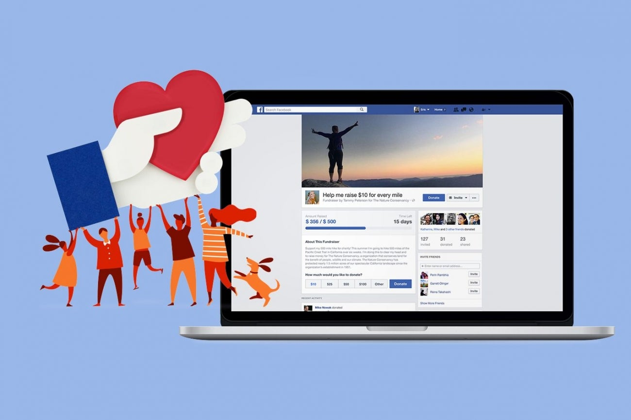 Facebook It: Facebook Now Allows You To Create Fundraisers