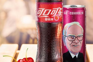 Warren Buffett's Face Will Be on Cherry Cokes in China