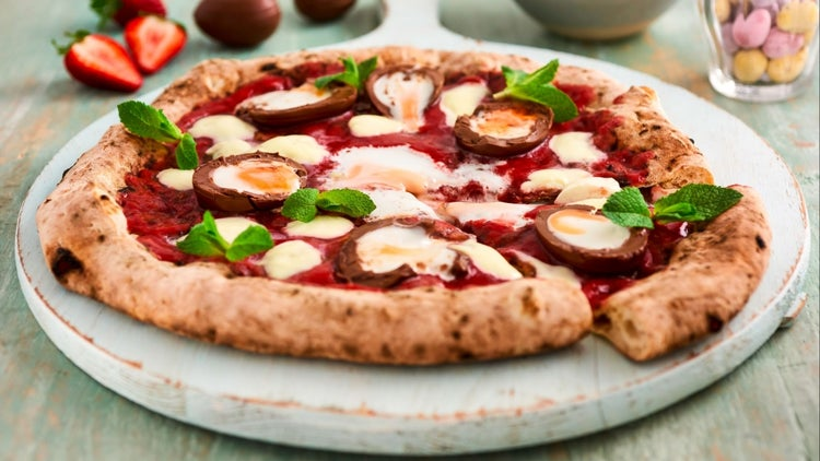 For Easter, Pizza Gets a Makeover With Cadbury Creme Eggs