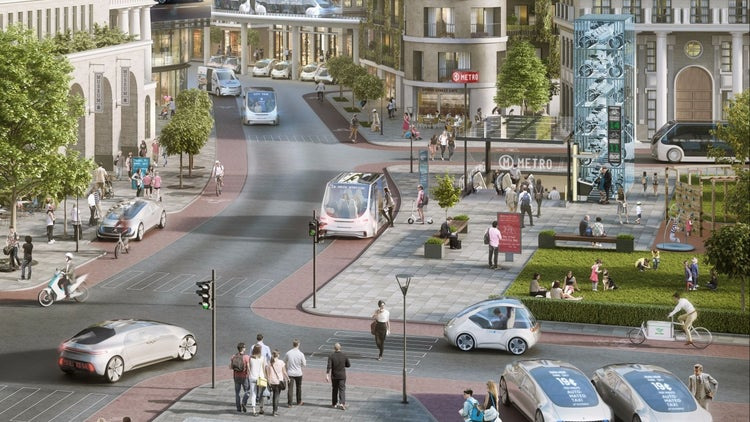 Mercedes and Bosch Team Up to Create Self-Driving Taxi System