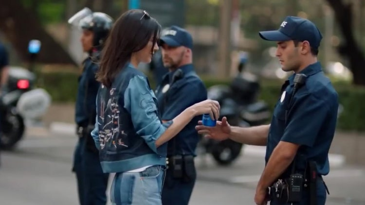 Pepsi Ignites Outrage With Kendall Jenner Ad