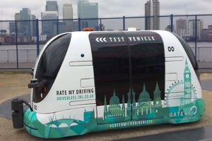 Driverless Shuttle Buses Arrive in London