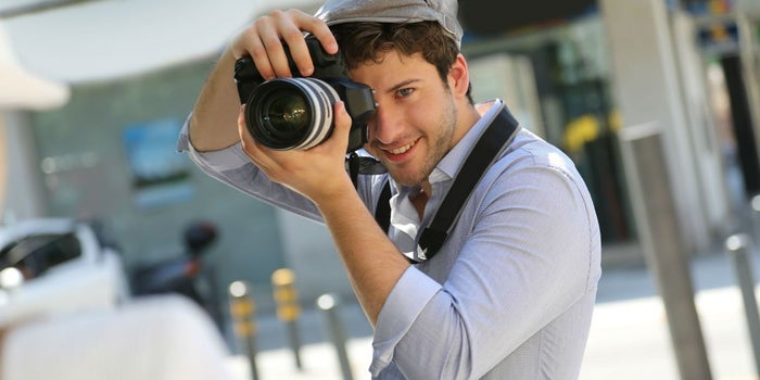 Inicia un negocio como fotógrafo de vacaciones