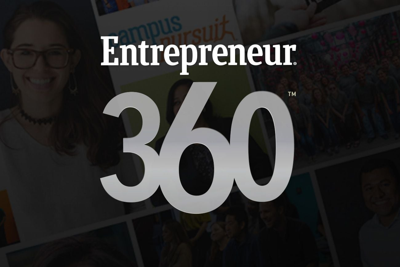Apply Now for the Entrepreneur 360