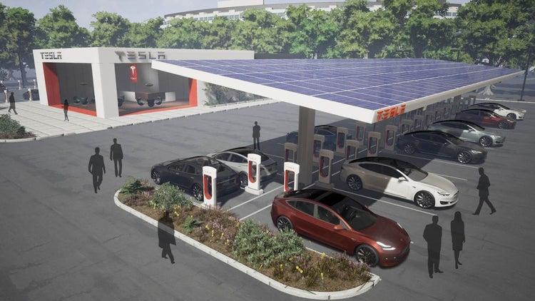 Tesla Announces Huge Supercharger Expansion