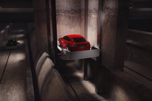 Elon Musk's 'Boring' Tunnel System Speeds Cars Along at 130 MPH