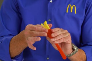 McDonald's Unveils the 'Frork,' a 'Flavor-Focused' Utensil