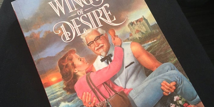 KFC Just Published a Ridiculously Raunchy and Bizarre Romance Novella Starring a Casanova Colonel Sanders. Here Are the Steamiest Parts.