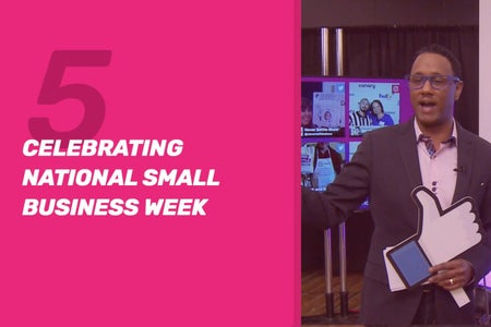 Watch 'The Never Settle Show' Ep. 5: Small Business Appreciation Week
