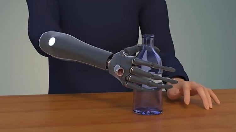 U.K. Engineers Have Developed a Prosthetic Hand That Can 'See'