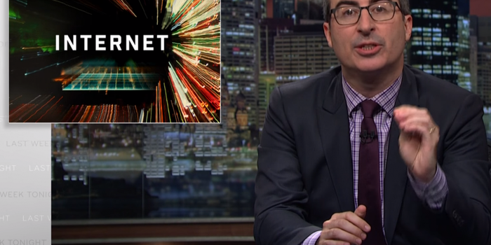 John Oliver Once Again Hilariously Advocates for 'Net Neutrality'
