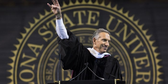 Starbucks's Former CEO Shares His Inspiring Journey From Public Housing to Success