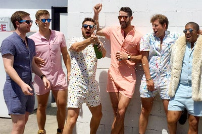 This Romper for Men Kickstarter Campaign Raised Over $50,000 in a Day