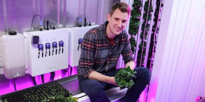 This Co-Founder Plants Roots at Colleges, Inspiring Students to Become Farmers