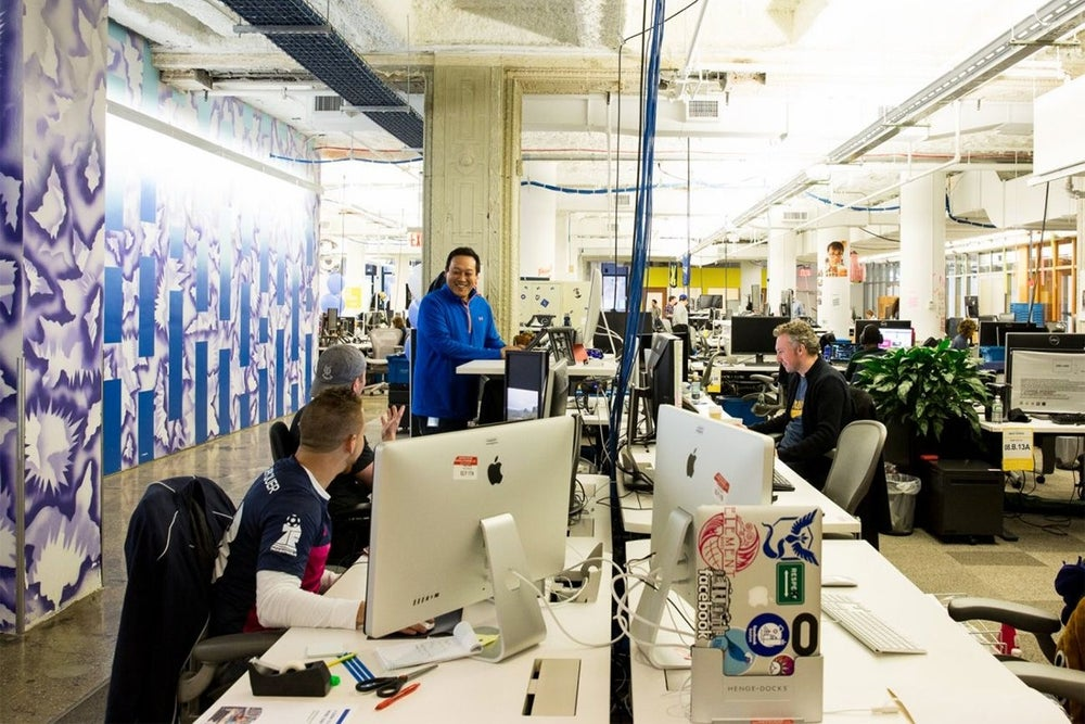 A Look Inside Facebook's New York Office, Where Employees of the $435 Billion Company Enjoy Virtual Reality Games and an In-House Pastry Chef