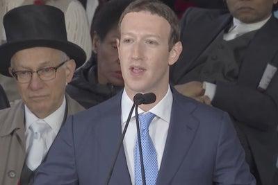 Mark Zuckerberg Encourages Harvard Grads to Create a Sense of Purpose