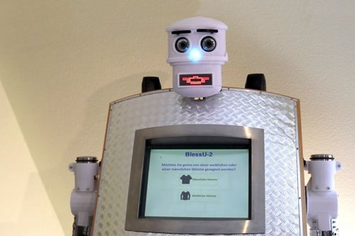 This Intense Robot Priest Can Give You Your Next Blessing