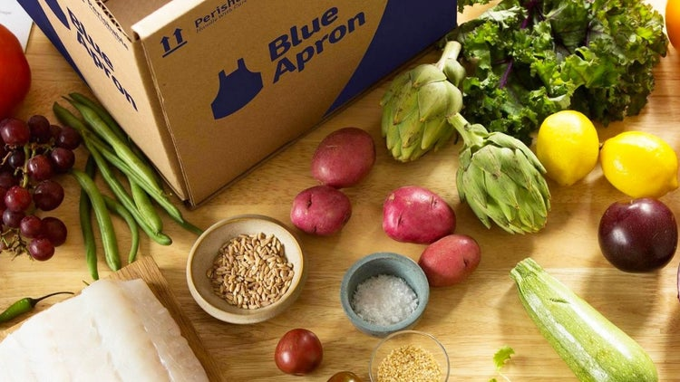 Meal-Kit Delivery Service Blue Apron Is Going Public
