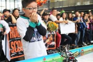 Niños, futuros emprendedores que cambiarán el mundo con robots