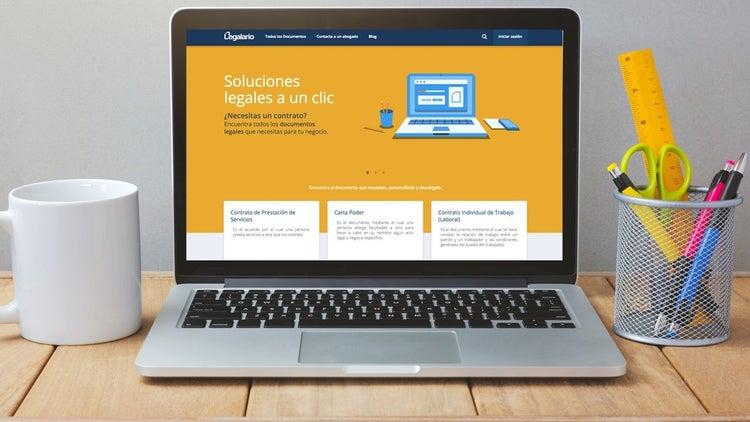 Esta página quiere ser tu abogado en línea