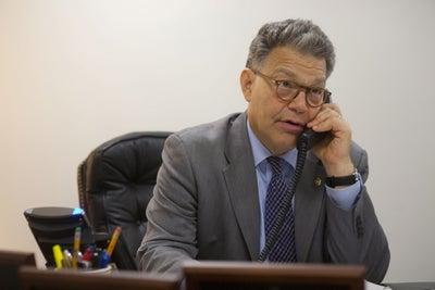 Why Does Senator Al Franken Make Cold Calls?