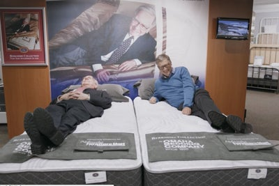 Billionaire Buds Bill Gates and Warren Buffett Even Like to Test Out M...