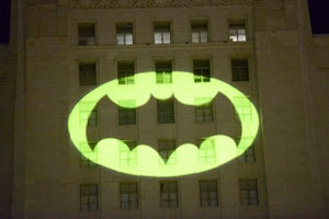 Holy Tribute, Batman! Watch the Bat-Signal Go Up Over Los Angeles In Honor of Adam West