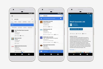 Hate Your Job? Google Wants to Help You Find a New One.