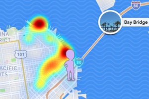 Snapchat Now Lets You Spy on Friends' Locations