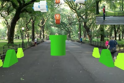 Check Out This Augmented Reality Version of 'Super Mario Bros.' Iconic...