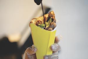 Los mexicanos que descubrieron los waffles en forma de burbuja